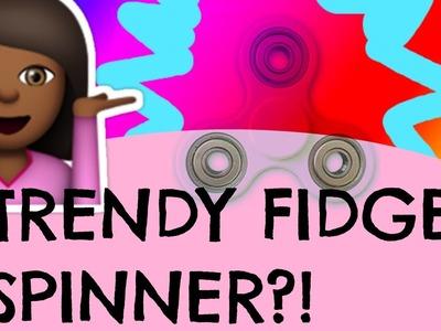 How I Decorated my FIDGET SPINNER. Trendy FIDGET SPINNER DIY!!