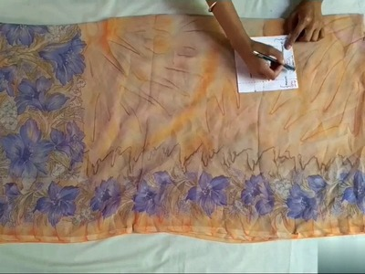 How To Convert Old  Dupatta into Kaftan.Recycle of Dupatta.VIEWER'S CHOICE