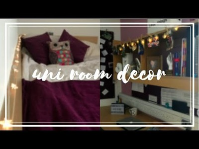 How to Decorate Uni Room | Inexpensive Tips, Ideas, DIY 2017