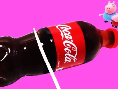 How to Make Coca cola Bottle Shape Jelly Easy DIY Gummy Soda Jello!