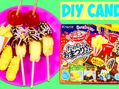 Kracie Popin Cookin DIY Chocolate Banana French Fries Corn on the Cob Candy Making Kit!