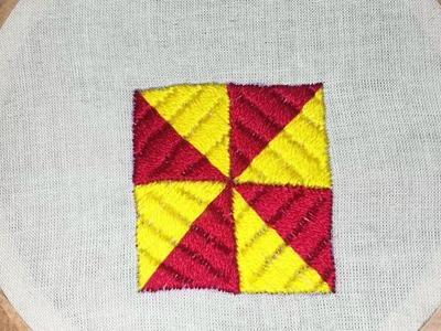 Latest Phulkari stitch hand embroidery