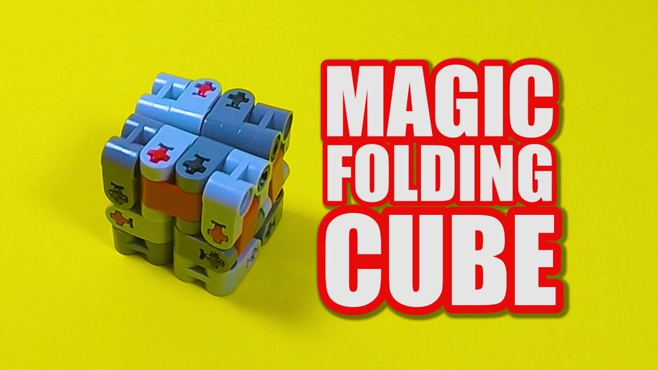 LEGO Magic Folding Cube Tutorial - LEGO Fidget Toy Idea ...