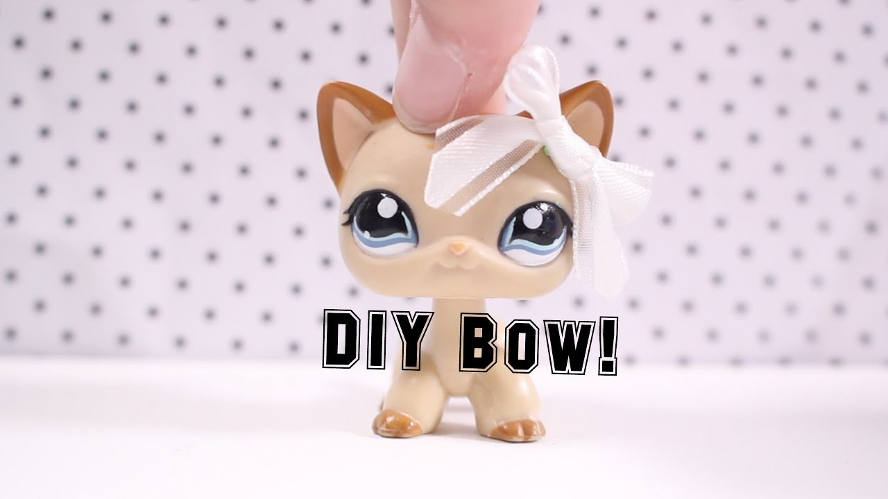 Lps Diy How To Make An Lps Bow My Crafts And Diy Projects