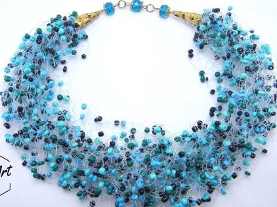 """Mira-Mira"" Necklace using Foam Technique | Beading Tutorial"