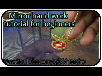 MIRROR HAND WORK TUTORIAL FOR BEGINNERS