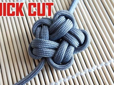 Paracord Star Knot Tutorial Quick Cut