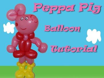Peppa Pig Balloon Tutorial