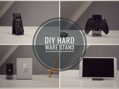 Simple Modern DIY Smartphone Stand Cheap and Easy and for Anything