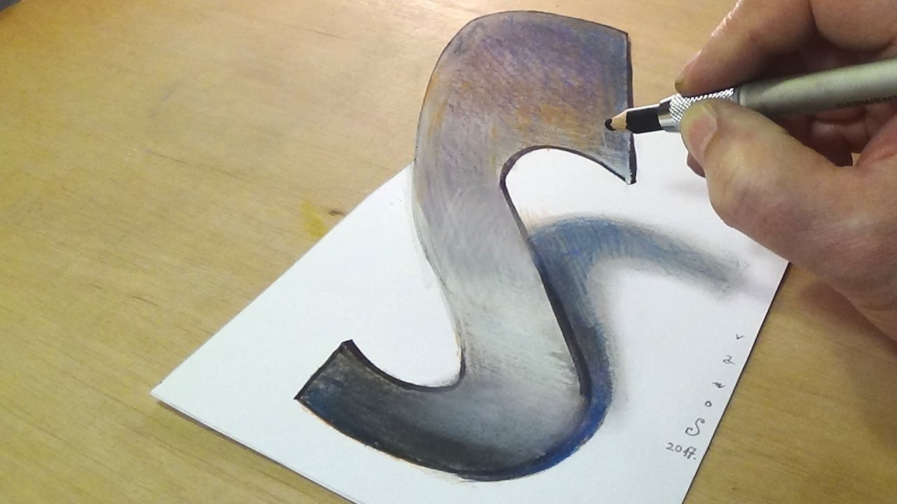 how to draw illusions 3d
