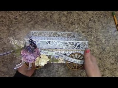 TUTORIAL CADDY WAGON BY SHELLIE GEIGLE J S HOBBIES AND CRAFTS