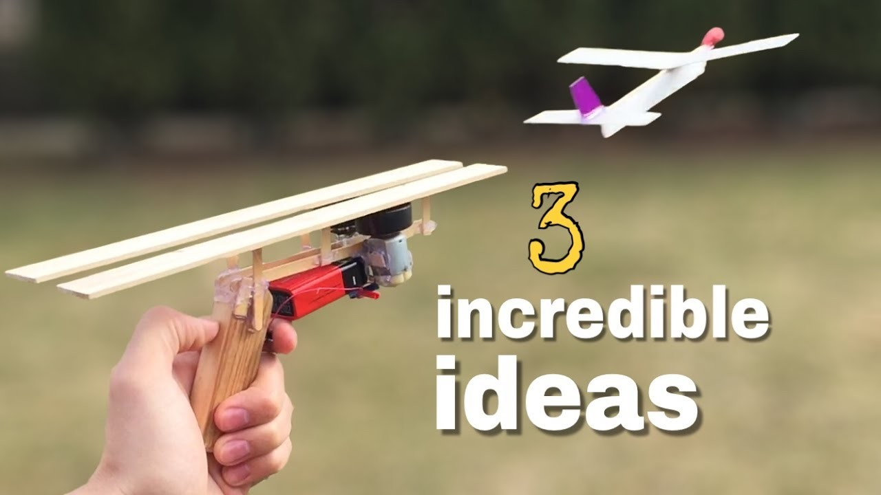 3 incredible ideas and amazing homemade inventions my for Diy inventions household items