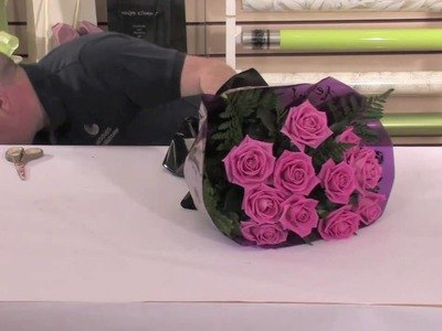 6. Pink Rose Hand Tied