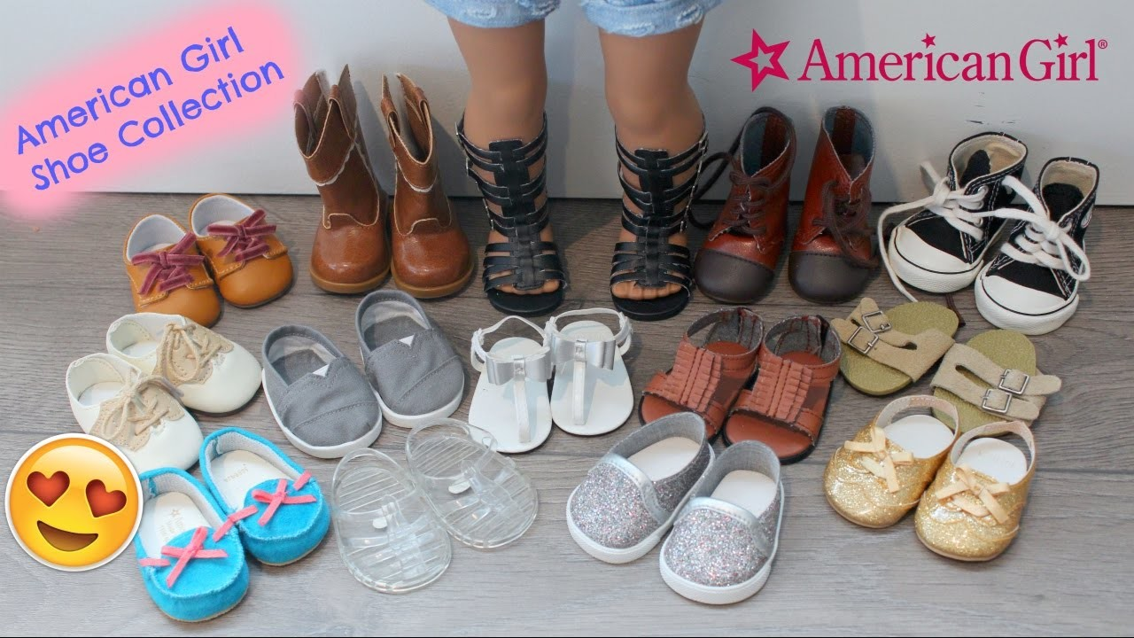 American Girl Doll Shoe Collection I My Favourite Pairs????
