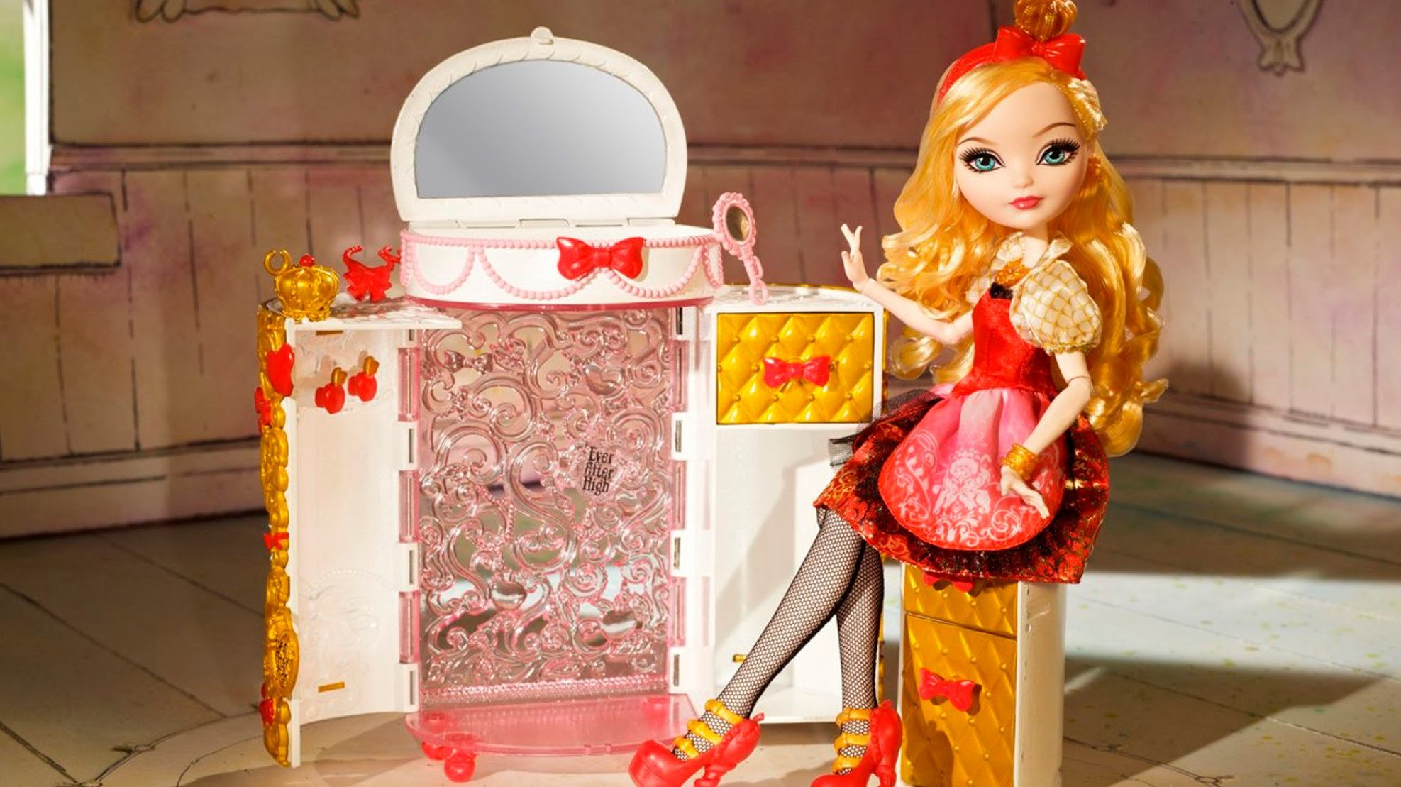 Ever After High Toy Box : Apple whites jewelry box ever after high cfb md