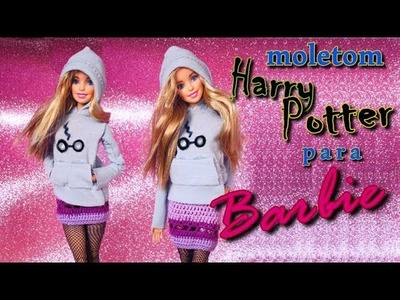 Blusa do Harry Potter para Barbie