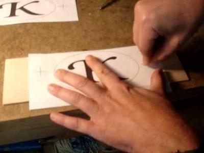 Build a Jewelry Box: Pt.2 - Making the monogram medallion