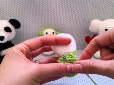 Costurando partes do Amigurumi (Vídeo 5)