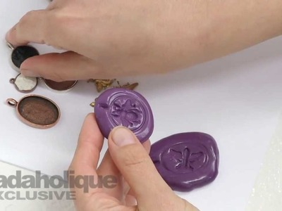 Crystal Clay: Molding, Casting, Setting, & Finishing. Part 1 - Creating a Mold to Fit a Bezel