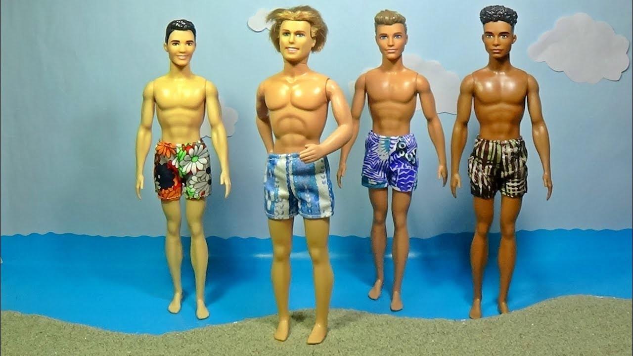 Diy shorts for Ken │DIY For Dolls