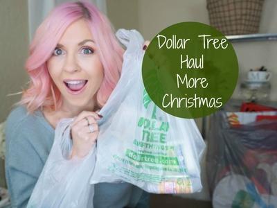 *Dollar Tree Haul| Christmas Decor & Gift Bags| Megan Navarro