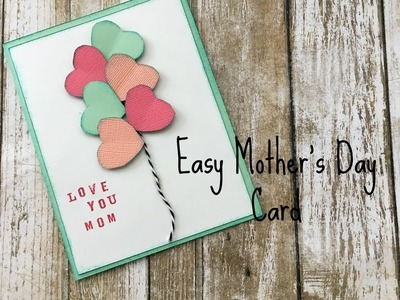 Easy Mother's Day card.Victoria's shop