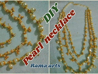 Function wear pearl necklace - How to make this Necklace | jewellery tutorials