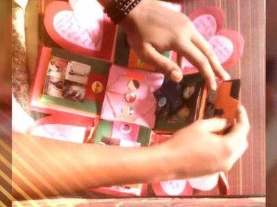 Handmade gift for best friend   surprise Exploding Box   Janhvi patil (Nikki)