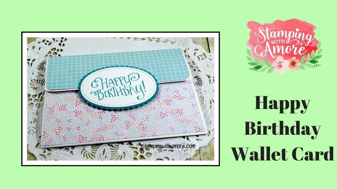 Happy Birthday Wallet Card