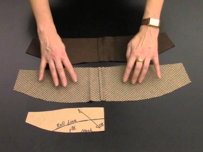 How To Construct the Hand-Tailored Undercollar:  Part 1.