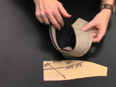 How To Construct the Hand-Tailored Undercollar: Part 2.