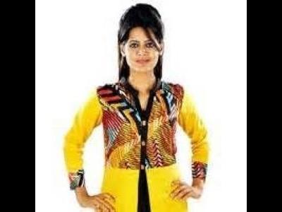How to draft & cut ladies Coat collar kurti and suit in hindi #1