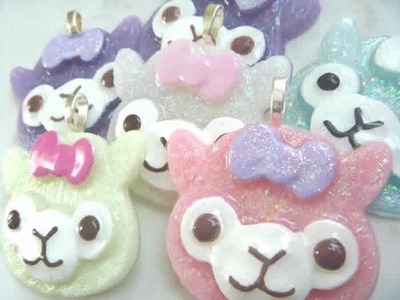 HOW TO - Glaze Resin Charms