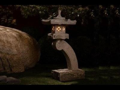How to make a concrete Rankei lantern - part 2