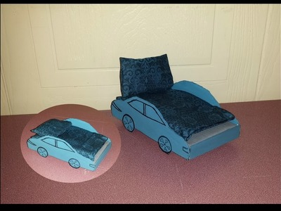 How to make a Doll Car Bed