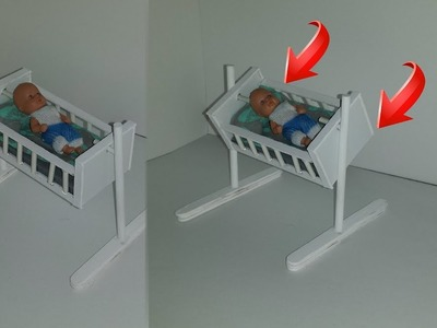 How to make a Doll Swinging Baby Crib