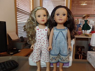 How to Make Doll Rompers Part 1
