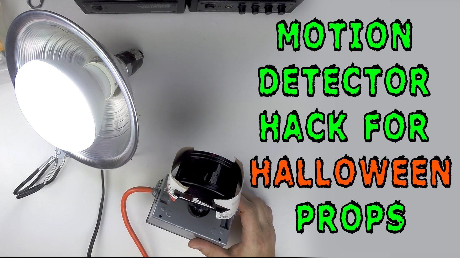 How To: Motion Detector Hack for Halloween Props