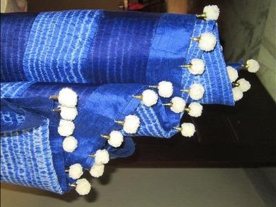 Latest tassels for silk sarees