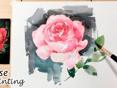 [LVL5] Rose Painting Tutorial | Flower Painting