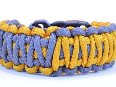 "Make the ""Cobra King"" Design Paracord Survival Bracelet - BoredParacord"