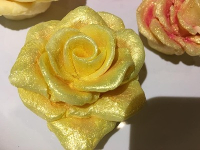 Making Soap Roses
