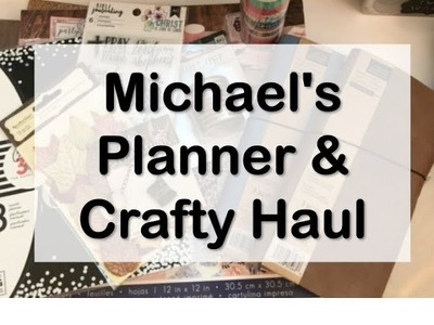 Michael's Haul - Recollection Traveler's Notebook Planners & Crafty Items