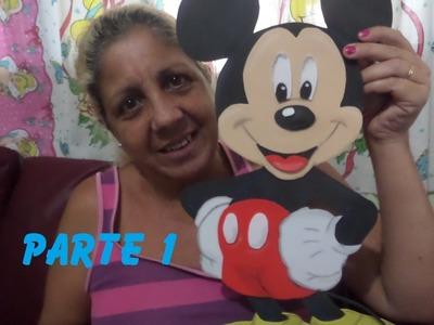 Mickey em EVA (Sandra Ciuffo) Parte 1