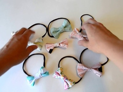 No-Sew Baby Bow Tutorial