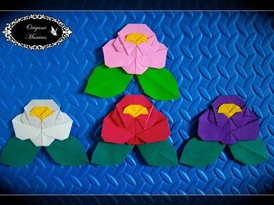 Origami Maniacs 268: Origami Camelia 1