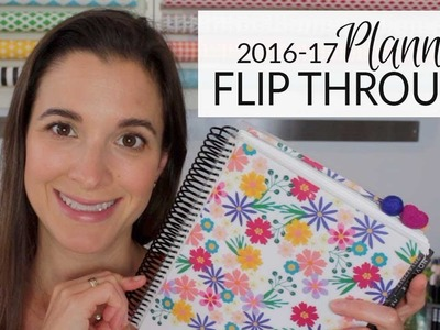 Planner Flip Through | My 2016-17 Erin Condren Life Planner