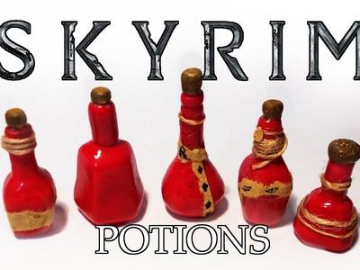 Skyrim potions (polymer clay)