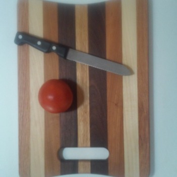 Walnut,Cherry,Maple and Oak Cutting Board