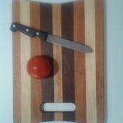 Walnut,Cherry,Maple and Oak Cutting Board
